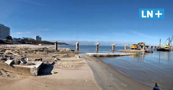 Timmendorf: So schnell verschwindet die Maritim-Seebrücke
