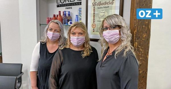 """Besonderer Tag für """"Haarwerkstatt"""" in Grimmen: Neustart ist auch Firmenjubiläum"""