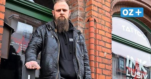 """Grimmener Tätowierer demonstriert gegen Corona-Lockdown: """"Stehen allein da"""""""