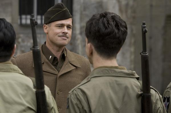 """""""Inglourious Basterds"""" wurde unter anderem in Nauen und Fort Hahneberg gedreht. Foto: DPA"""