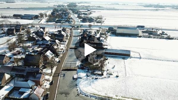 RIJPWETERING - Dronebeelden afgelopen winter (video)