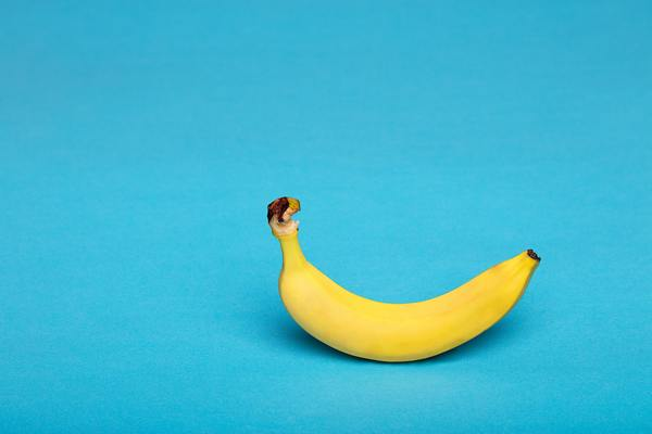 A banana. A ripe banana 🍌, to be more precise, courtesy of unsplash.com.