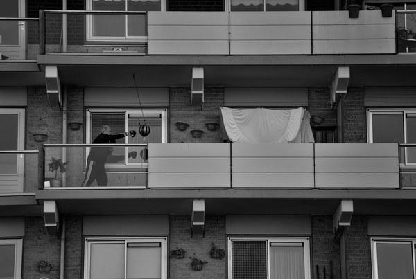 The Balcony Boxer