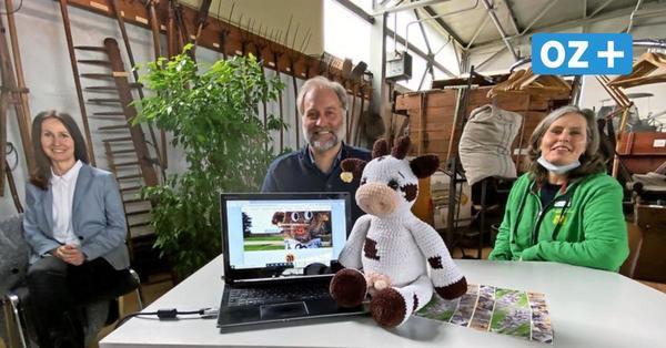 "Mit Kuh ""Berta"" auf virtuelle Tour im Kreisagrarmuseum in Dorf Mecklenburg"