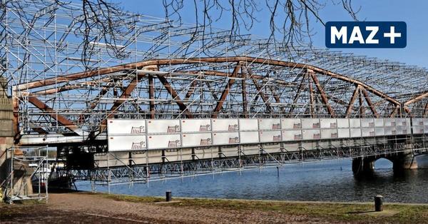 Alte Plauer Brücke wird aufgehübscht