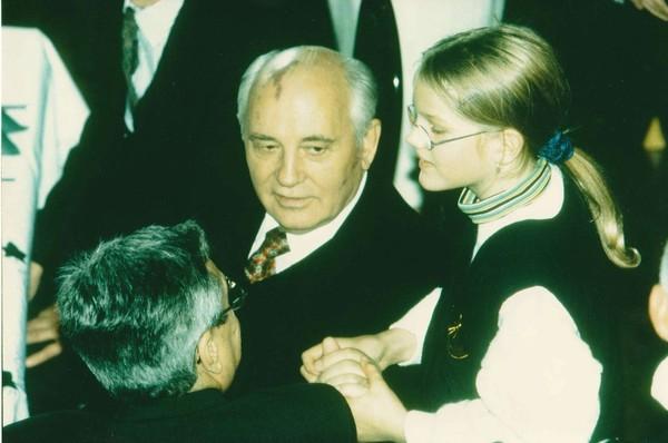 SPD-Bundestagskandidatin Sonja Eichwede hat Michail Gorbatschow getroffen, als sie noch ein Kind war. (Foto: Jochen Stoss)