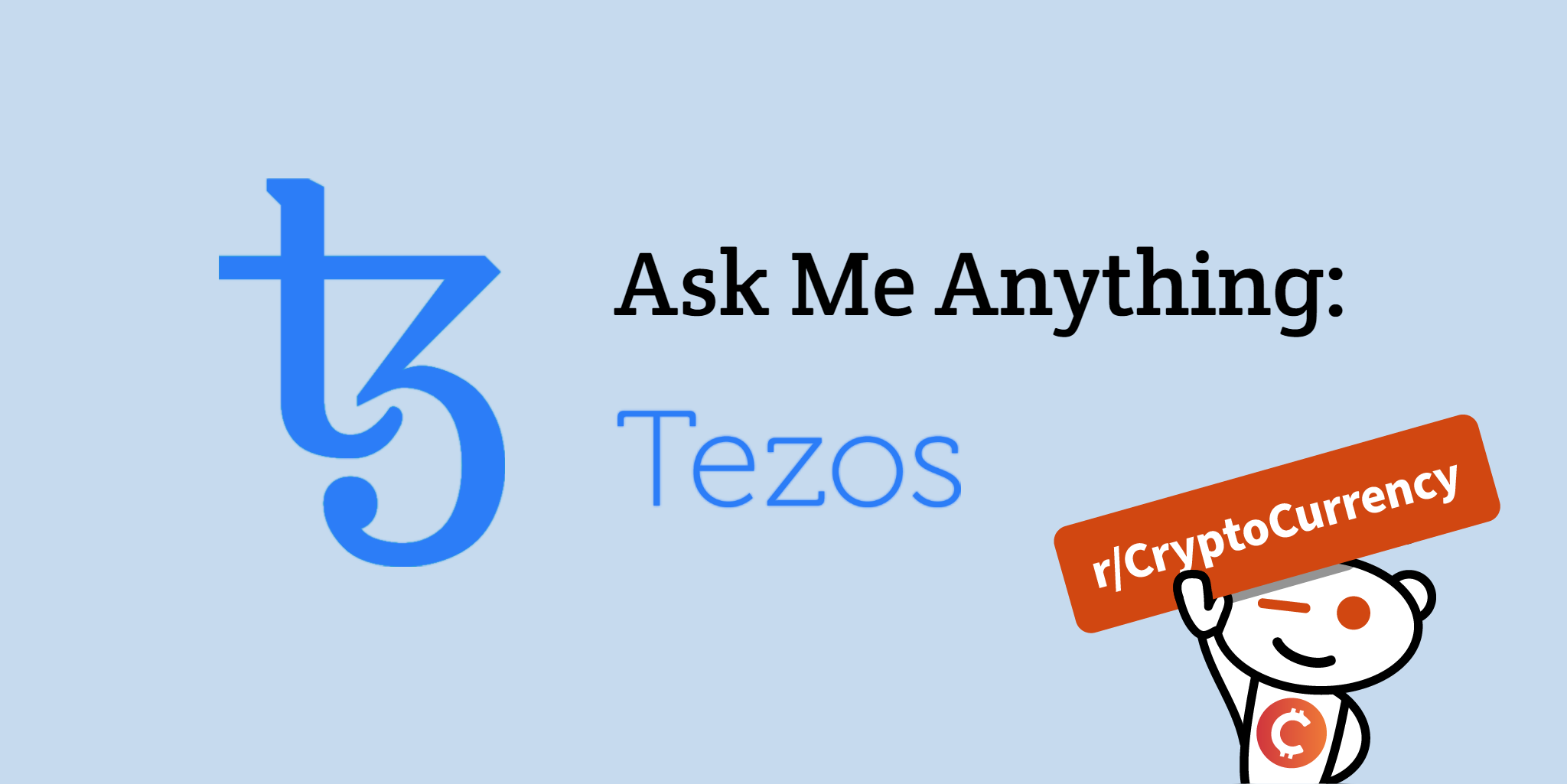 Featuring Tezos co-founder, Arthur Breitman, starting at 12pm EST.