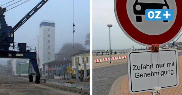 Autofahrer ignorieren Schilder im Stadthafen Sassnitz: Neue Schranke soll sie stoppen