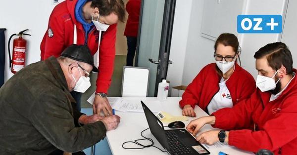 Großer Andrang im Impfzentrum Rügen: So lief der erste Tag