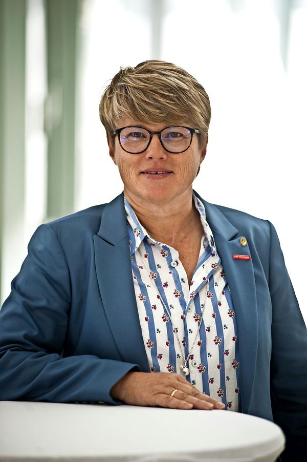 Simone Speck, Malermeisterin und Vizepräsidentin der Handwerkskammer Lübeck