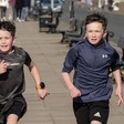 Youngsters complete fundraising marathon for West Kirby Lifeboat - West Kirby