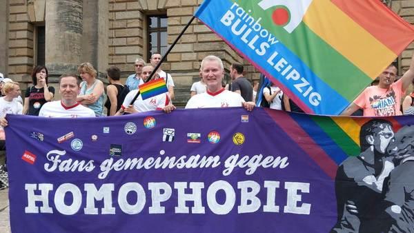 RB Leipzigs OFCs: RainbowBULLS nehmen Homophobie auf die Hörner