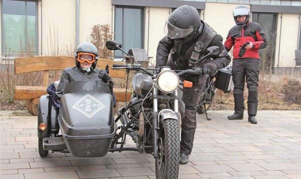Frau Müller fährt noch mal Motorrad - Heidekreis - Walsroder Zeitung