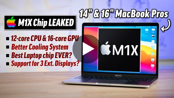 M1X Performance Leaked! (BEST Laptop chip in the world)