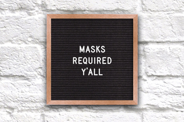 Masks Are Staying On At Texas Cafes (Even Without A Mandate)