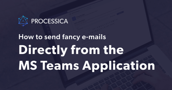 How to send email directly from Microsoft Teams