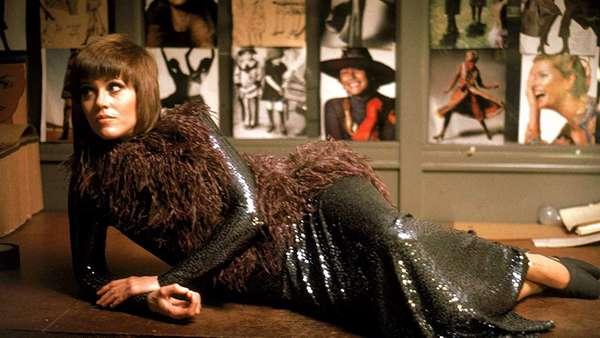 """Jane Fonda em """"Klute""""."""