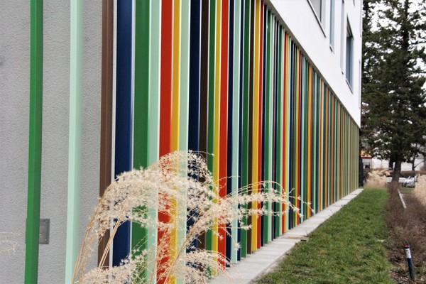 Wo im Havelland geht es so farbenfroh zu? Foto: Marlies Schnaibel