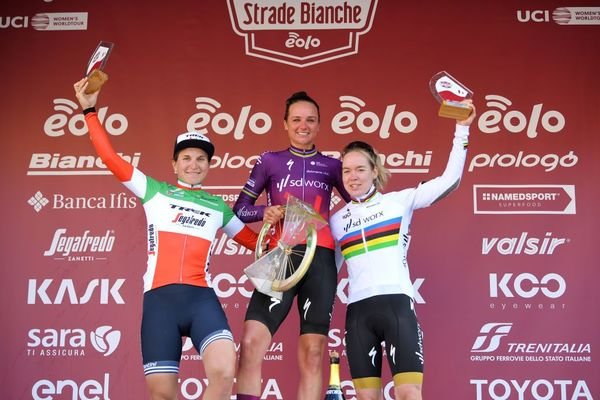 5 conclusions from the 2021 Strade Bianche Women's Race