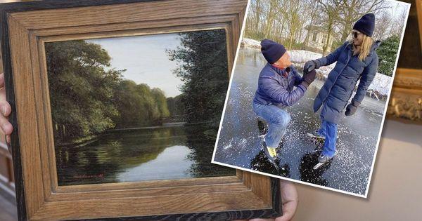 Kunsthandelaar hoopt dat de koning 'vroegste jeugdwerk Mondriaan' koopt | Binnenland | Telegraaf.nl
