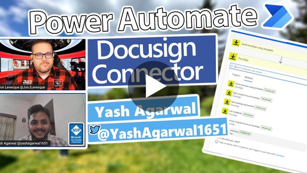 Power Automate Tutorial - Docusign Connector
