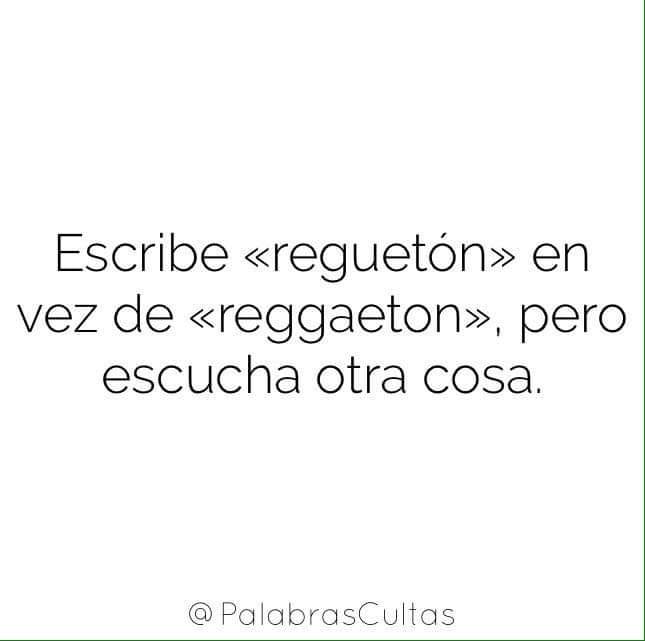 Así se escribe en español, pero no lo escuches 😅😂🤣