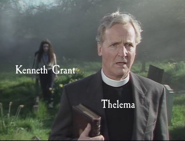Kenneth Grant sneaking up on you Thelema!