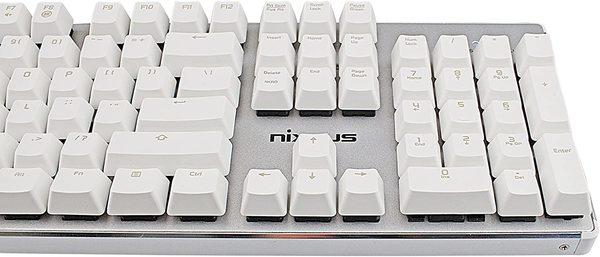 The keyboard I use. It's loud. (via Amazon)