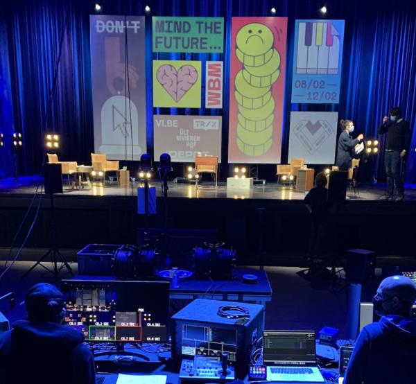 Week van de Belgische muziek. Debat in Depot, Leuven.