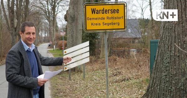 Gemeinde Rohlstorf nimmt das Kreisprojekt Radwegebau selbst in die Hand