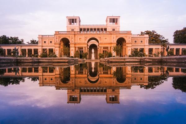 Die Orangerie im Park Sanssouci. Foto: Patricia Müller