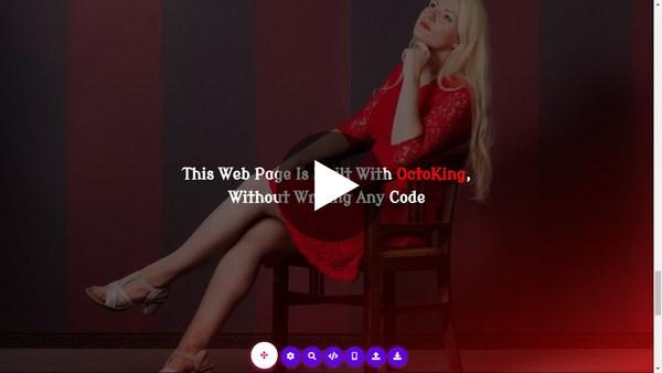 OctoKing 🐙👑  NoCode Website Building Platform