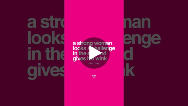International Women's Day 2021 - Thanks to Zeinab & Ali for your video magic!