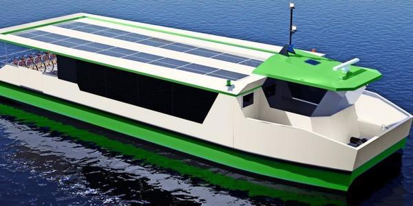 Mitmachen und gewinnen: Wie soll Rostocks neue E-Fähre für den Stadthafen heißen?