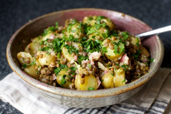 warm lentil and potato salad – smitten kitchen