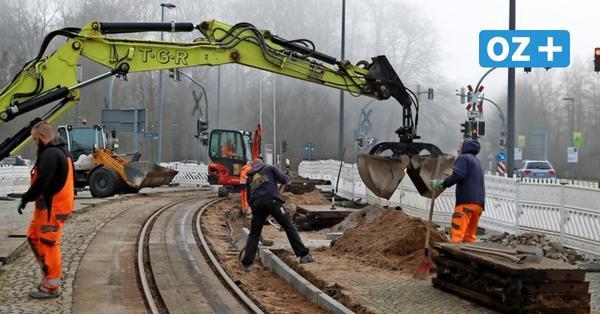 Bauarbeiten am Molli-Gleis in Bad Doberan: B 105 wird voll gesperrt