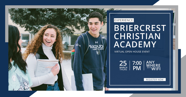 BCA VIRTUAL OPEN HOUSE: March 25th at 7:00 PM