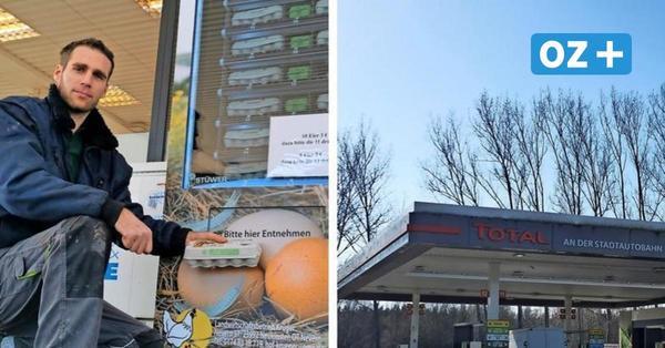 Eier auf Knopfdruck: Hier steht der erste Eierautomat Rostocks