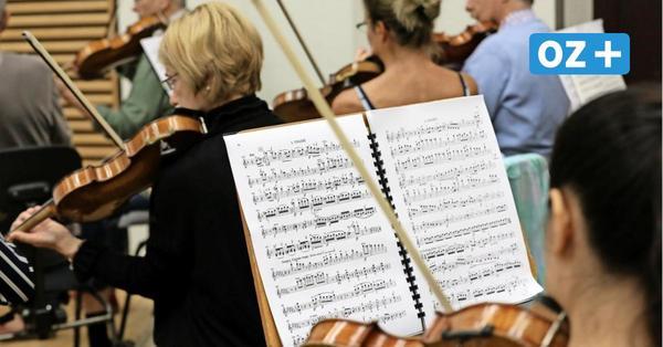 Radiokonzert: Norddeutsche Philharmonie Rostock musiziert erstmals wieder zusammen