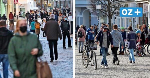 Warum in Greifswalds Fußgängerzone keine Maskenpflicht gilt, in Stralsund aber doch