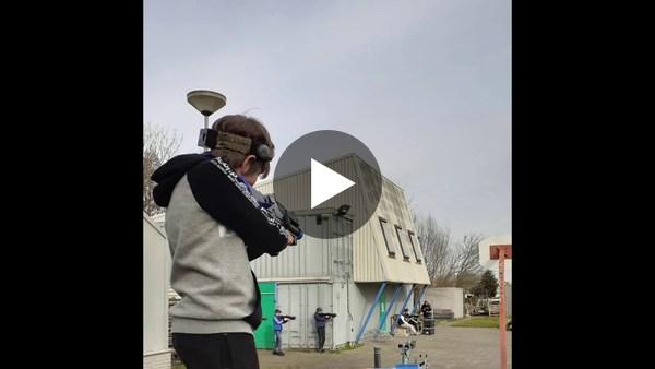 GEMEENTE - Afgelopen week konden jongeren gratis lasergamen bij onder andere het Ghoybos, Scouting '63 en De Bult. (video)
