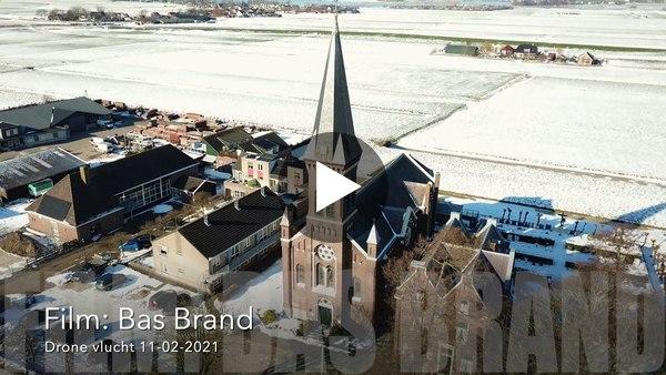 OUD ADE - Bas Brand is deze winter ook in Oud Ade geweest met zijn drone (video)