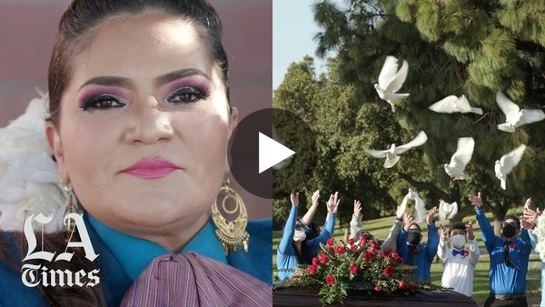 """""""Work is a blessing,"""" says Maricela Martinez of Mariachi Lindas Mexicanas. """"But I wish we wouldn't be living this. I wish none of this would have ever happened."""""""