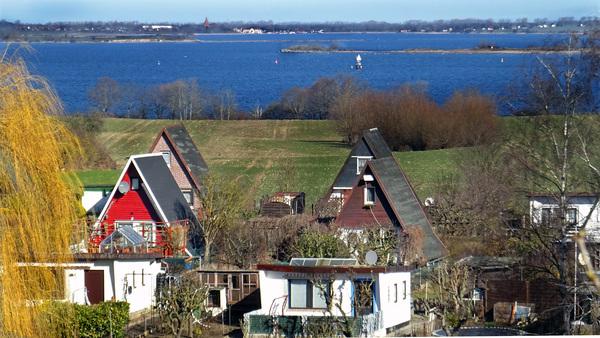 Blick vom Klingenberg auf die Wismarbucht (Foto: Helmut Kuzina)
