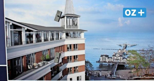 Kurhaus-Abriss: Erste Bilder vom neuen Super-Hotel an der Selliner Seebrücke