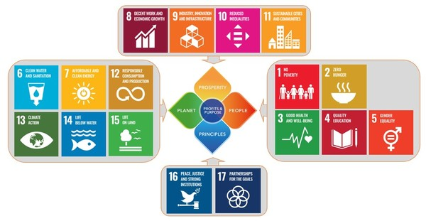 Diagram 2: Fit with the UN Sustainable Development Goals