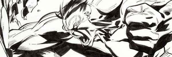 Ron Garney - Incredible Hulk Original Comic Art