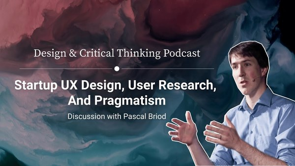 Startup UX Design, User Research, And Pragmatism –with Pascal Briod from Monito