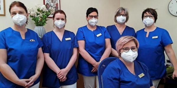 Das Team der Hausarztpraxis. Foto: Privat