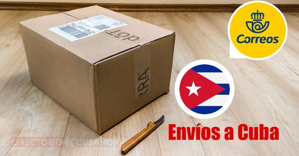 "Correos España: ""ya es posible realizar envíos a Cuba"""